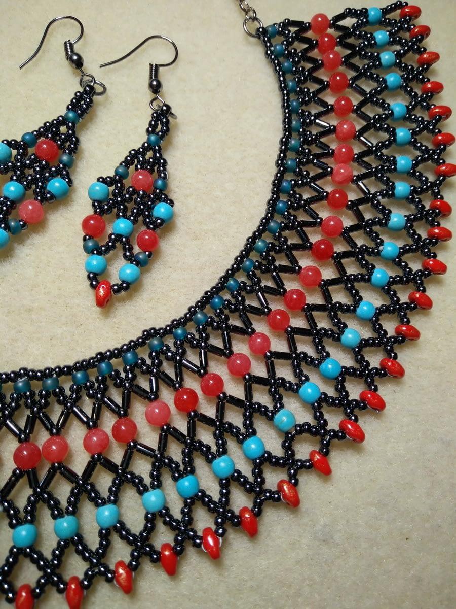 Mreža od perlica – 'bead netting'
