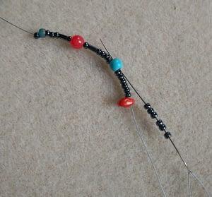 Mreža od perlica - 'bead netting'
